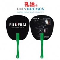 Eco-friendly Plastic PP Fans with Printed Logo for Promotional Giveaways (RPPPF-1)