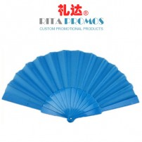 Custom Plastic Folding Hand Fan for Promotional Gifts(RPPPF-2.1)