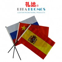 Custom Advertising Hand Waving Flags (RPAF-1)