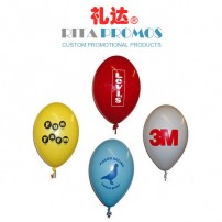 "10"" Advertising Latex Balloon with Custom Logo (RPPAB-1)"