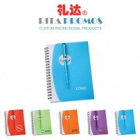 Promotional Wave Pen Notebooks & Jotters (RCPNB-3)