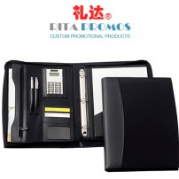 PU Leather Portfolio with Card Holders (RPP-4)