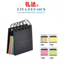 Wire Bounded Memo Sticky Notebook Sticker for Corporate Gifts (RCPNB-5)