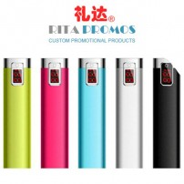Cheap Promotional LED Display Power Bank (RPPPB-6)