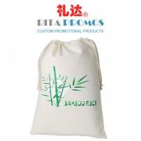 Custom Promotional Bamboo Fibre Drawstring Bags (RPBFDB-1)