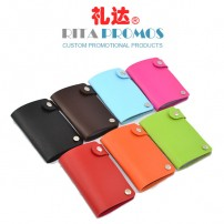 Promotional PU Leather Swivel Business Card Case (RPBCH-2)