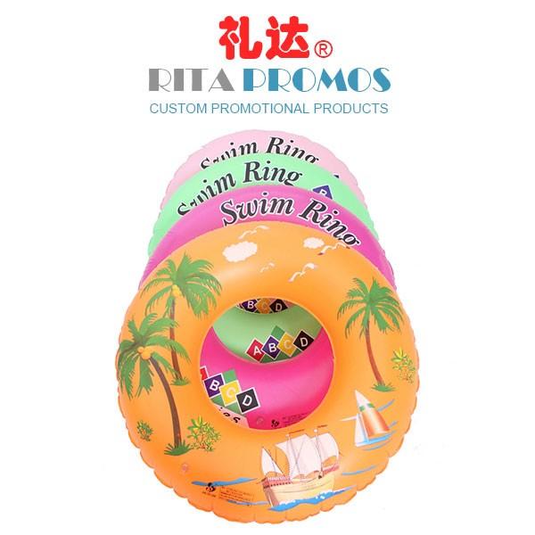 Promotional PVC Inflatable Swim Ring (RPSR-1)