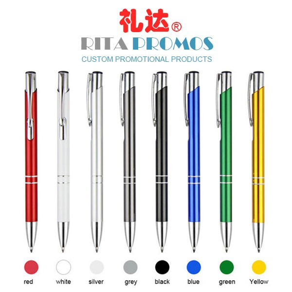 Personalized Promotional Metal Ballpoint Pen with Your Logo (RPCPP-8)