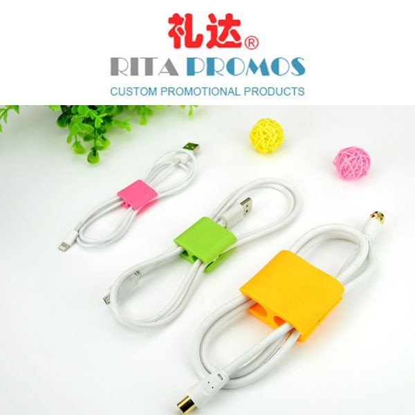 Custom Cable Holders Wire Clips for Promotional Items (RPCHC-001)
