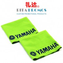 Microfiber Double-sided Suede Cloth with Imprinted Logo (RPMFC-005)