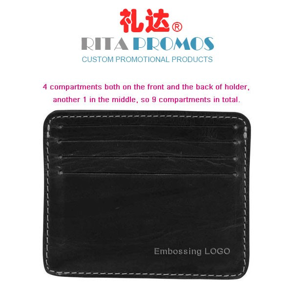 Promotional Credit Card Holder with Embossing Logo (RPCCH-001)