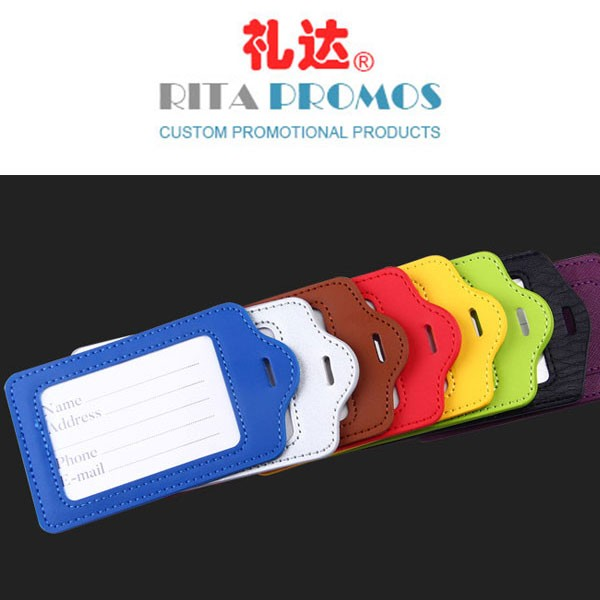 PU Luggage Tags with Your Logo (RPLT-001)
