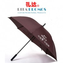 Brown Golf Umbrellas Wholesale (RPUBL-010)