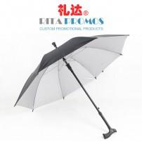 Promotional Walking Stick Umbrellas for Elders Wholesale (RPUBL-021)
