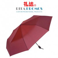 Custom Promotional Folding Umbrellas with Imprinted Logo (RPUBL-033)