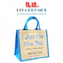 Custom Linen Tote Bags/Handbags for Promotions (RPLTB-1)