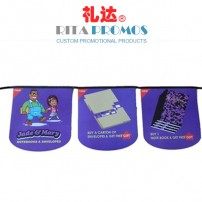 Promotional Plastic Bunting, String Flags (RPPBF-003)