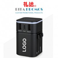 Worldwide Travel Adapter with Your Logo (RP-JY-302SC)