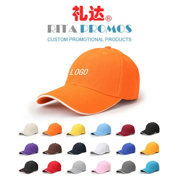 Good Quality Promotional Polyester Cotton Sports Hats Baseball Caps (RPSH-5)