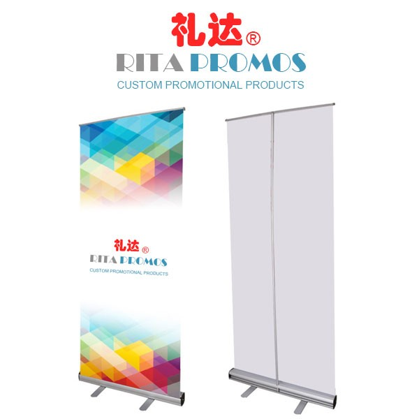 Custom Portable Roll-Up Banners For Your Marketing Event (RPRUB-001)