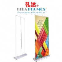Retractable Aluminum Pop Up Banner Display Stand (RPRUB-002)