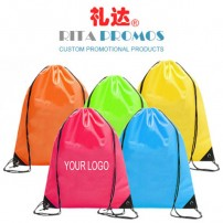 Custom Promotional 210D Polyester Drawstring Backpacks (RPPDB-2)