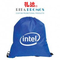 Promotional Blue 420D Polyester Drawstring Bags/Packs (RPPDB-3)