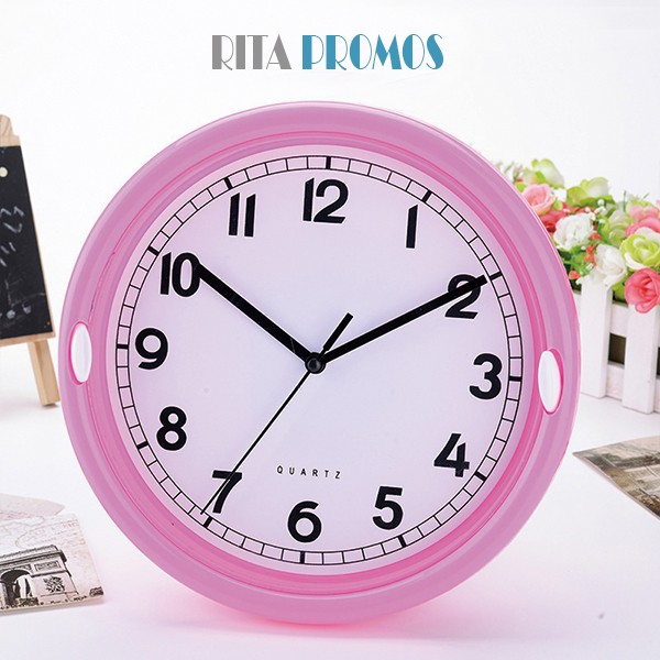 Advertising Round ABS Plastic Wall Clock for Bedroom Decoration ...