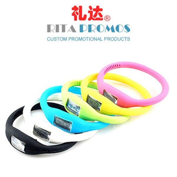 Cheap Fashion Promotional Silicone Watch (RPPSW-1)