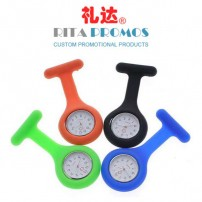 Promotional Silicone Nurse Watch Waterproof Quartz with Imprinted Logo (RPPSW-2)