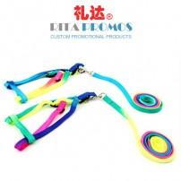 Colorful Polyester Pet Lanyards for Promotional Giveaways (RPPL-2)